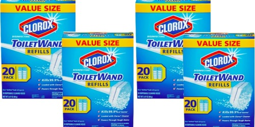 Target.com: Clorox ToiletWand Disinfecting Refills 80 Count Only $20.85 Shipped