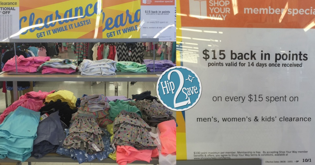e89c921dc1a1 Kmart: $15 Back in Shop Your Way Points on Every $15 Clearance ...