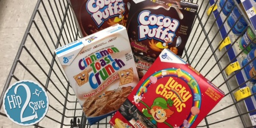 Walgreens: Select General Mills Cereals ONLY 74¢ Each (After Checkout51)