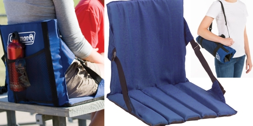 Coleman Blue Stadium Seat ONLY $10 (Regularly $14.99)