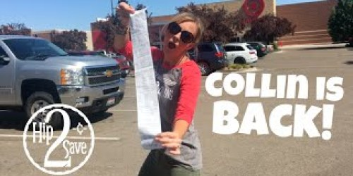 Collin is Back! New Target Deal Shopping Video (BIG Savings on Starbucks, Barbie & More!)