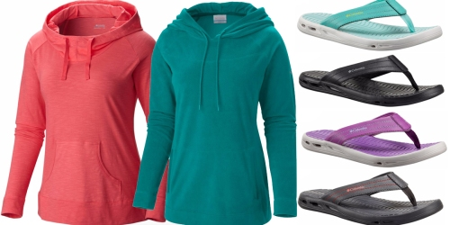 Columbia Hoodies & Flip Flops Only $14.98 Shipped (Regularly Up to $60)