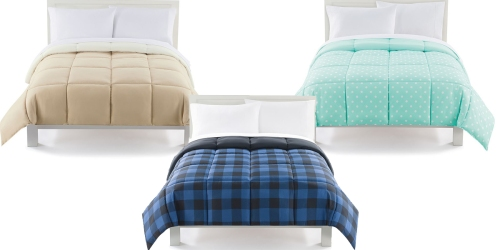 Kohl's: The Big One Down Alternative Reversible Comforter All Sizes Only $21.24 (Regularly $119.99)