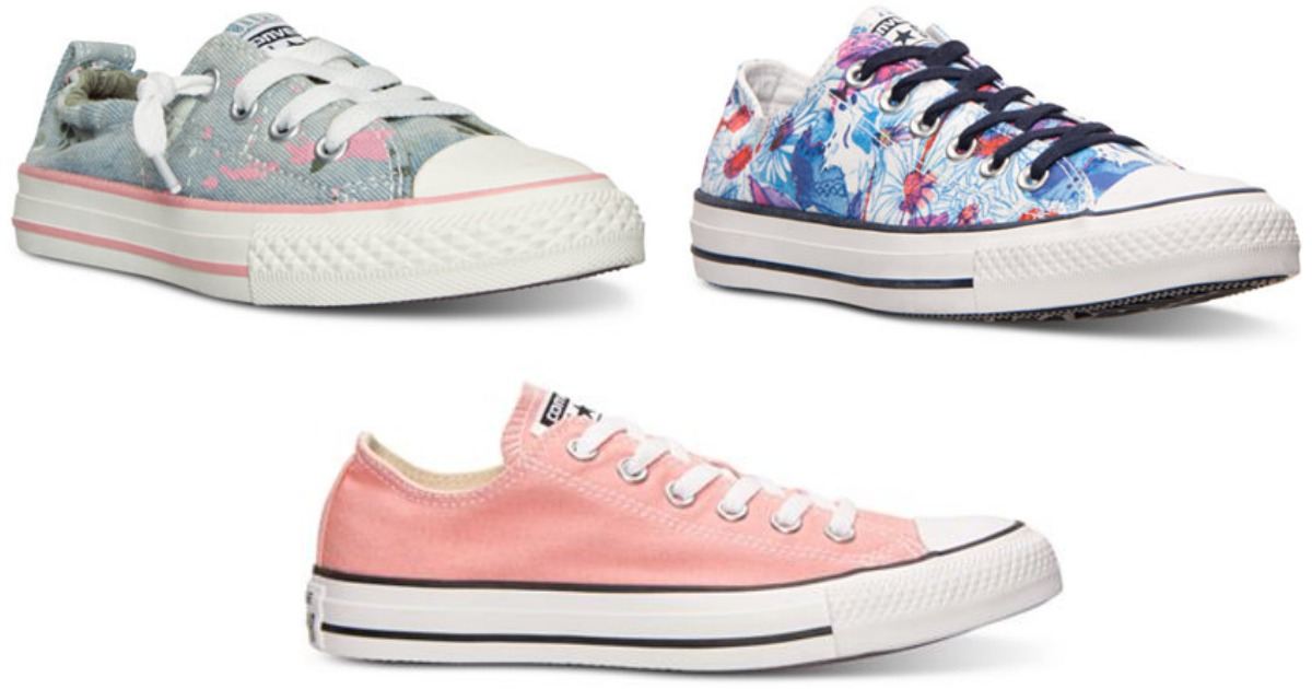 Macy's: Save BIG On Converse Shoes for Kids', Men and Women