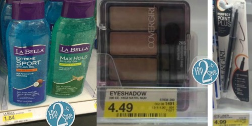 Target: Possible Money Maker on CoverGirl Cosmetics and La Bella Hair Gel