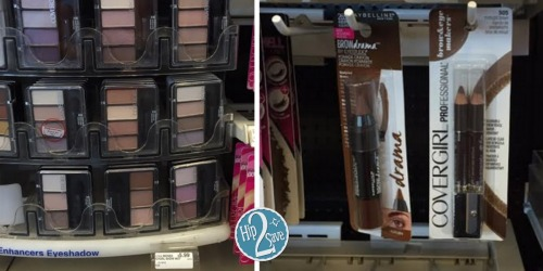 CVS: CoverGirl Eye Cosmetics Only 52¢ Each (After Rewards)