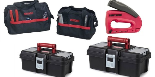 Nice Buys on Craftsman Tool Boxes, Tool Bags and Staplers