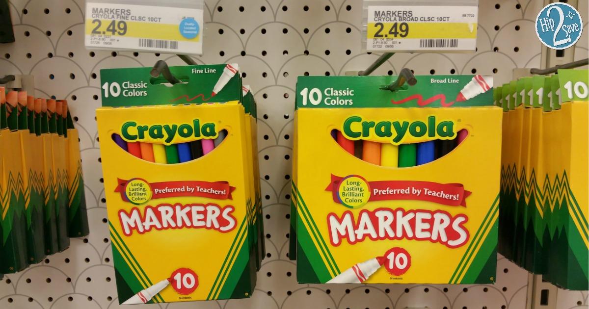 Crayola Markers 10 Count