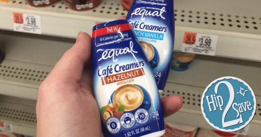 Equal creamer