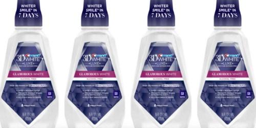 Walgreens: TWO FREE Crest 3D White Mouthwash After Register Reward (Starting 9/18)