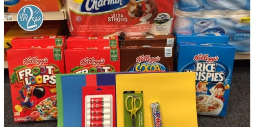 CVS Shoppers! Grab BIG Savings on School Supplies, Kellogg's Cereals, Charmin Toilet Paper & More