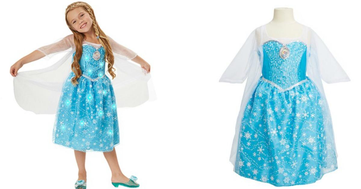 Kohl S Disney Frozen Elsa Light Up Dress Only 10 24