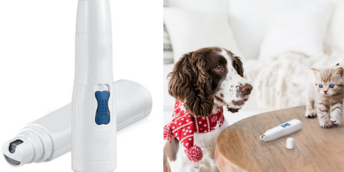 Amazon: Dog & Cat Nail Trimmer Only $9.99 (Regularly $19.99)