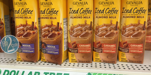 New $0.75/1 ANY Gevalia Coffee Product Coupon = 25¢ Iced Coffee at Dollar Tree + More Deals