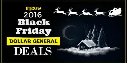 Dollar General: 2016 Black Friday Deals