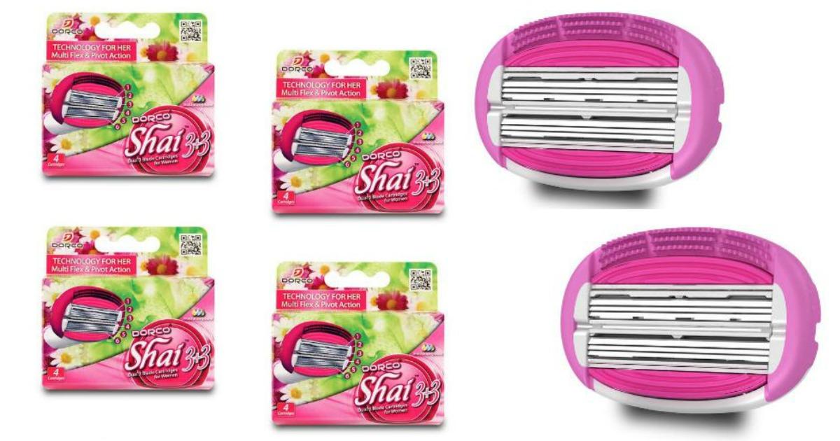 Dorco Shai Cartridges