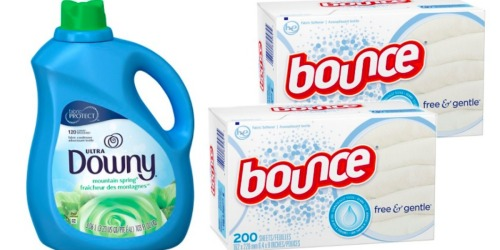Target.com: Save BIG On Downy Fabric Softener and Bounce Dryer Sheets (After Gift Card)