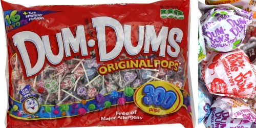Kmart: Dum Dum Pops 300-Count Bag Just $15.99 + Earn $15.99 Back in Shop Your Way Rewards Points
