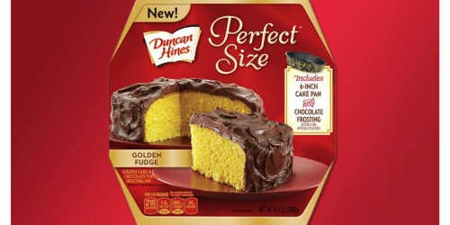 NEW Duncan Hines Coupons = Perfect Size Cake Mix Only $1.50 at Target