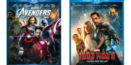 Target: Marvel's The Avengers & Iron Man 3 Blu-Ray + DVD Combo Packs Just $8 (Reg. $39.99)