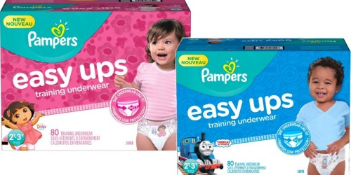 Amazon Family Members: Pampers Easy Ups 80-Count Boxes Only $14.95 Shipped