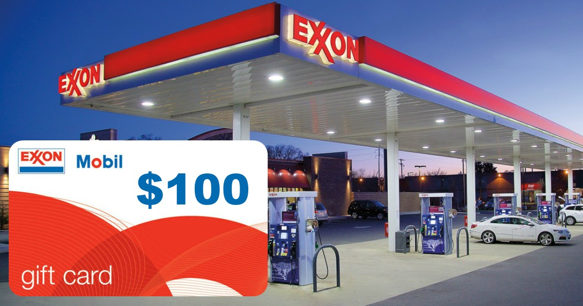 Save On Gas! Score a $100 Exxon/Mobile Gift Card for ONLY