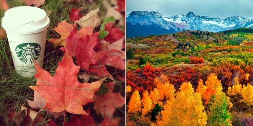 Celebrate Fall with FREE Entrance to National Parks & Museums, $3 Starbucks Beverages & More