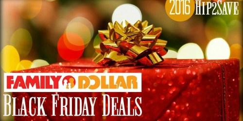 Family Dollar: 2016 Black Friday Deals