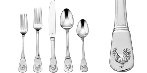Cuisinart 20-Piece French Rooster Flatware Set Only $29.99 Shipped (Regularly $49.99)