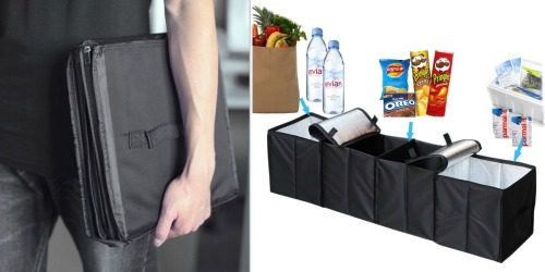 Amazon: Deler Foldable 4-Compartment Insulated Trunk Organizer Only $19.99 (Regularly $39.99)