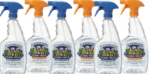 *NEW* $1/1 Four Monks Cleaning Vinegar Spray Coupon