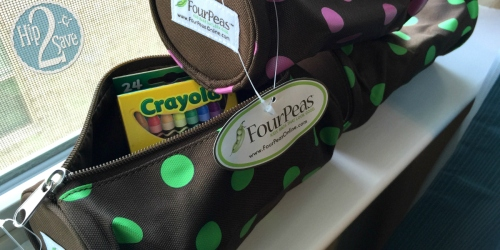 Four Peas: Fun Pencil Bags, Supply Bags, Key Chains and Luggage Tags ONLY $1.40 Each Shipped