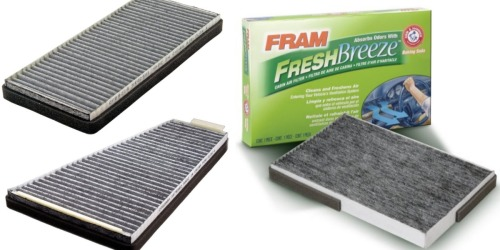 Amazon: Nice Deals On FRAM Fresh Breeze Air Filters