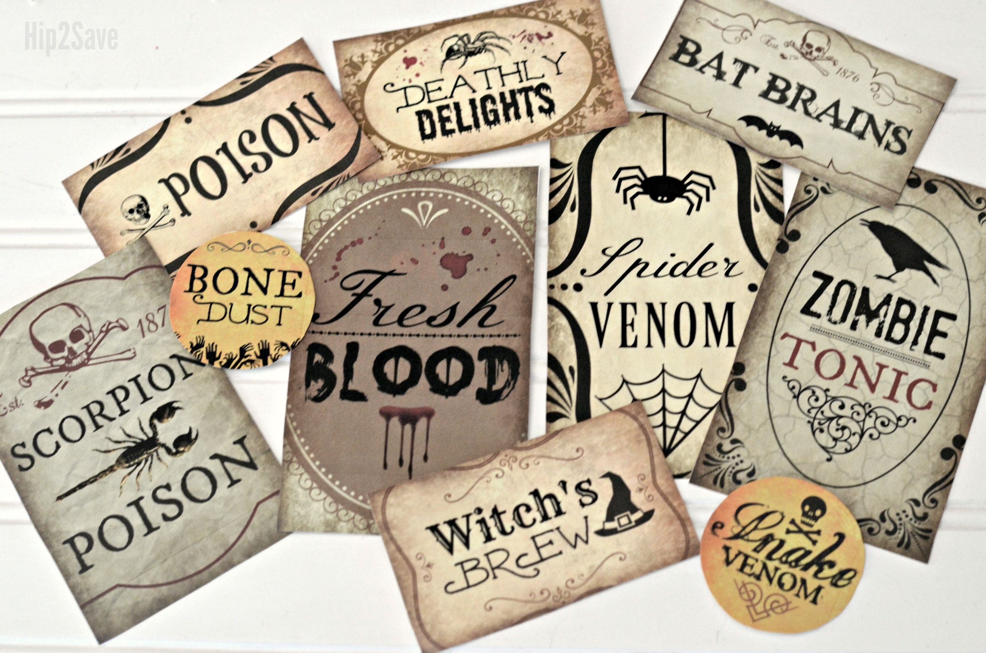photo relating to Printable Halloween Labels named Generate Spooky Halloween Potion Bottles with Our 10 Free of charge