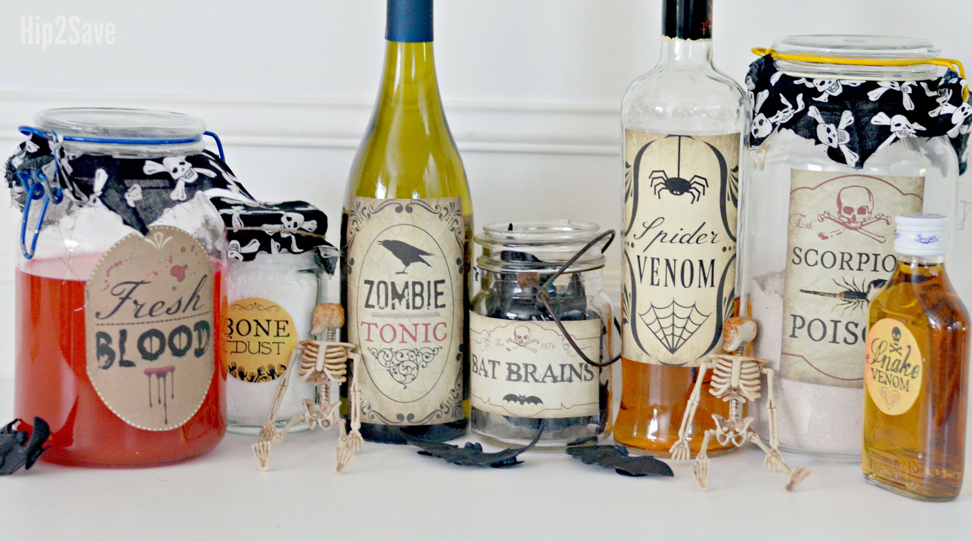 photograph regarding Printable Potion Labels titled Build Spooky Halloween Potion Bottles with Our 10 Totally free