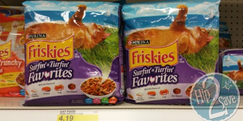 Target: Purina Friskies Dry Cat Food 3.15 Bag Only $1.93 and Friskies Party Treats Only 70¢