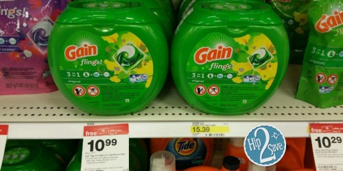 New $2/1 Gain Flings Coupon = 42-Count Container Only $6.49 at Target (After Gift Card)
