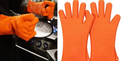 Amazon: Silicone Heat Resistant Gloves Only $9.99 (Regularly $59.99)