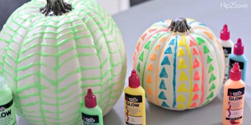 DIY Glow in the Dark Pumpkins