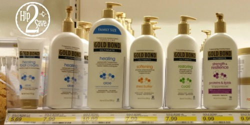 Target: Nice Savings on Personal Care Products (Gold Bond, Nivea, Up & Up, Band-Aid)