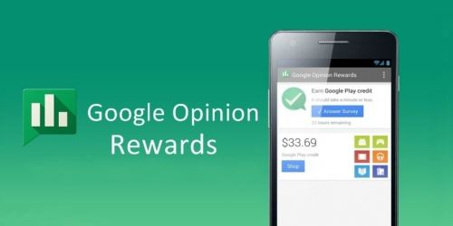 Google Opinion Rewards App: Share Your Opinions = Free Google Play Credits