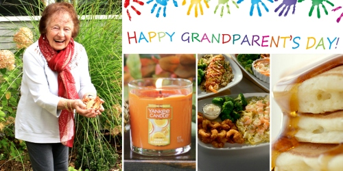 Celebrate YOUR Grandparents This Weekend! Create a FREE Keepsake, Eat FREE Food & More