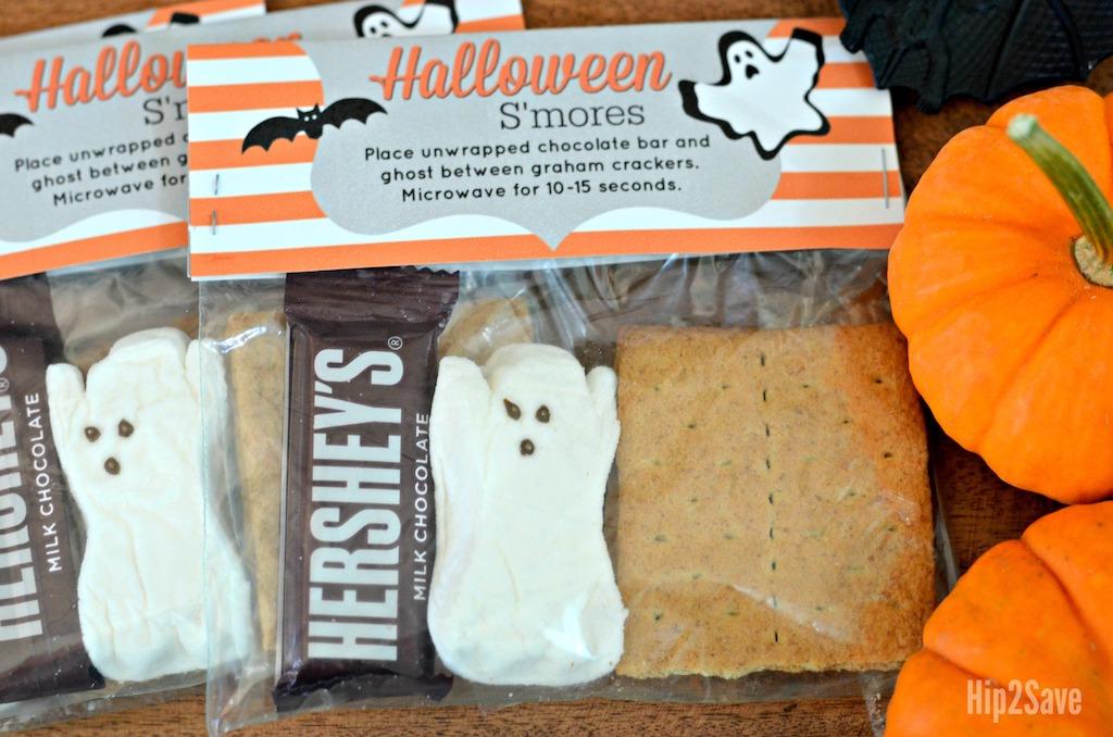 DIY Halloween S'Mores kits