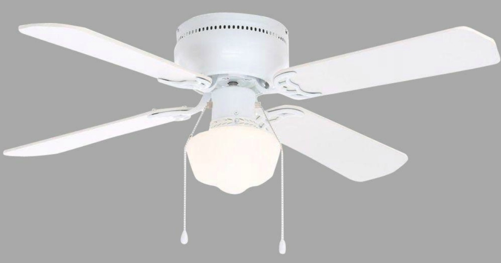Home Depot Extra 25 Off Select Ceiling Fans Hampton Bay 42 White Ceiling Fan Just 22 48 Hip2save