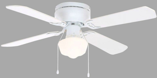 Home Depot: Extra 25% Off Select Ceiling Fans = Hampton Bay 42″ White Ceiling Fan Just $22.48