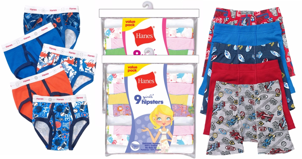 9c96306a94c Hanes.com  Free Shipping on Every Order   9 Pack of Girl s Underwear Only   6.99 Shipped