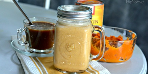 DIY Pumpkin Spice Coffee Creamer