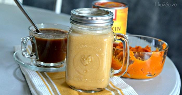 DIY Pumpkin Spice Coffee Creamer