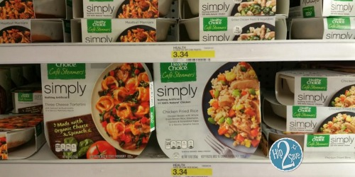 Target: Healthy Choice Café Steamers Just $1.67 Each