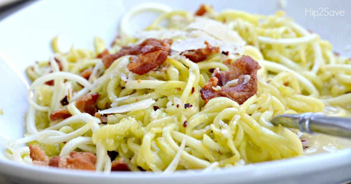 How to Make Squash Noodles Hip2Save.com